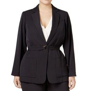 Calvin Klein Size 20W Plus Front-Tie Jacket NWOT